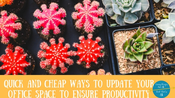 design your own office space to increase productivity millennial