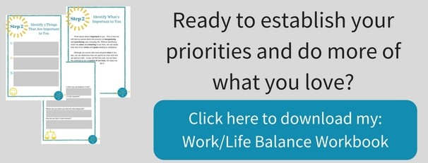 free work life balance workbook