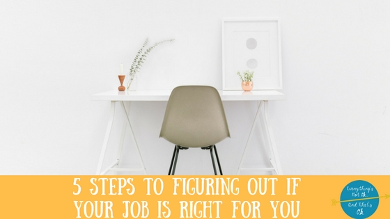 Which Job is Right for You: Should You Stay Put, or Start Looking?