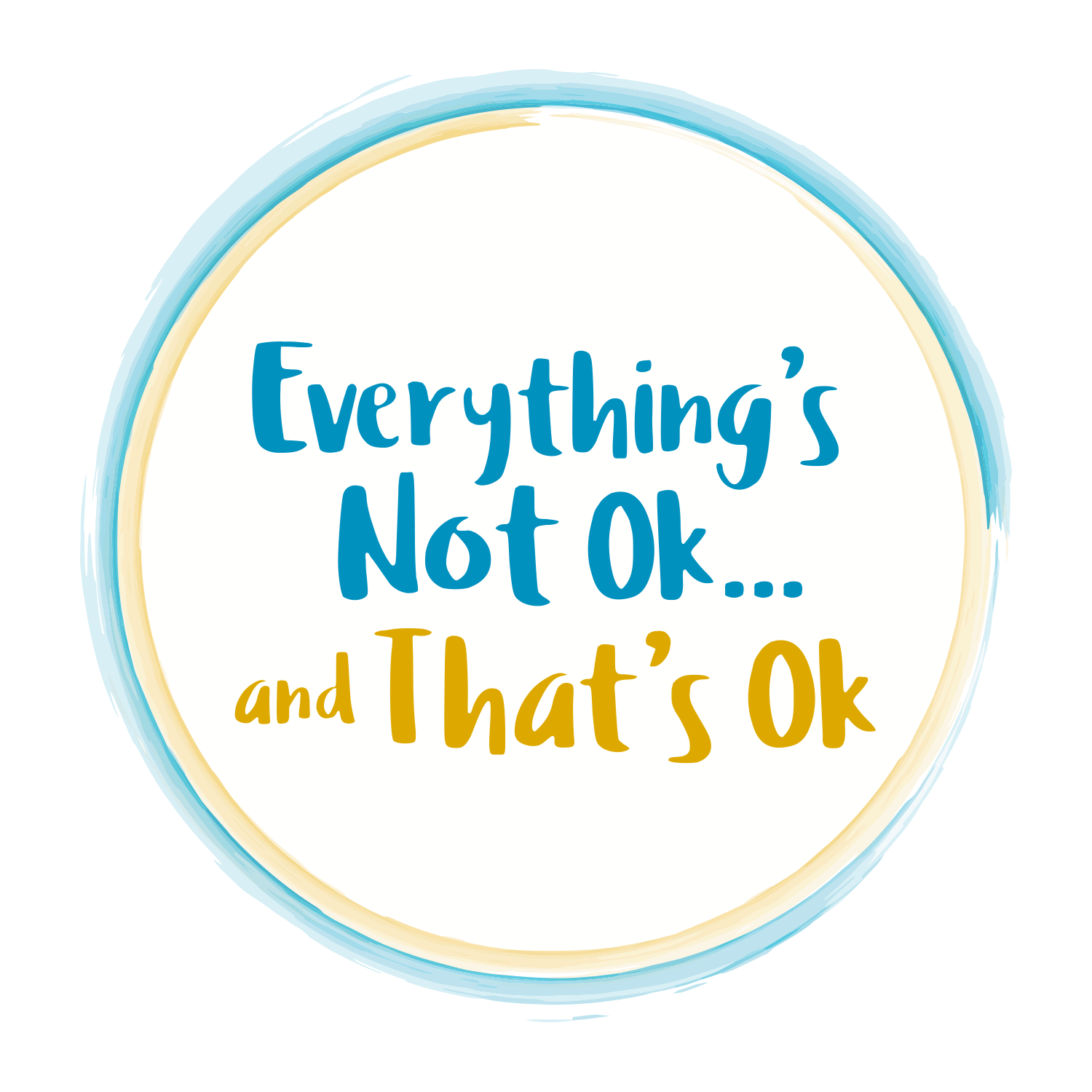 everything's not ok and that's ok