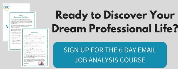 Job Analysis email course