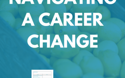 Navigating a Career Change