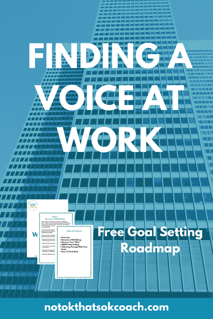 Finding a Voice at Work