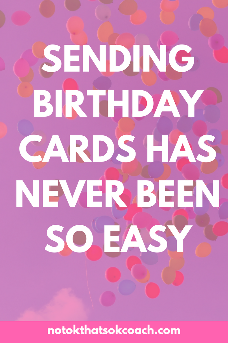 Sending Birthday Cards Has Never Been So Easy