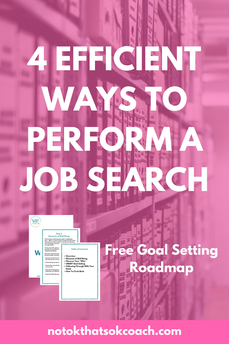 4 Efficient Ways to Perform a Job Search