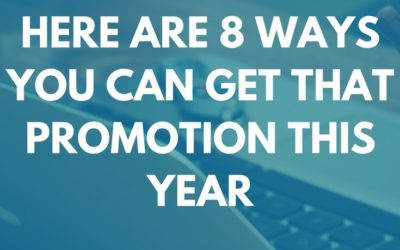 Hey Millennials! Here are 8 Ways You Can Get That Promotion This Year