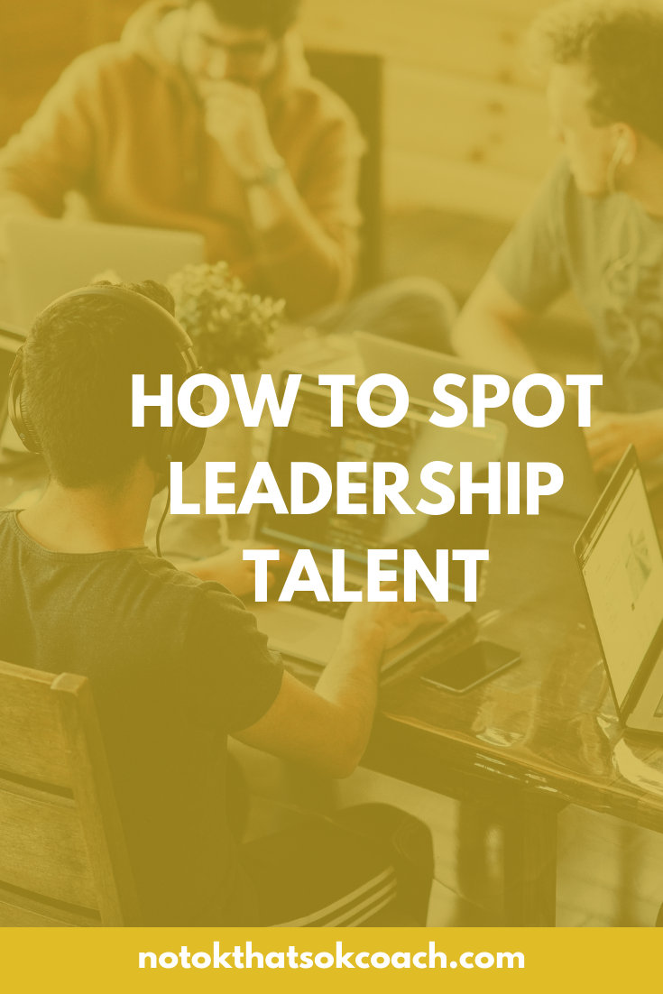 How to spot leadership talent