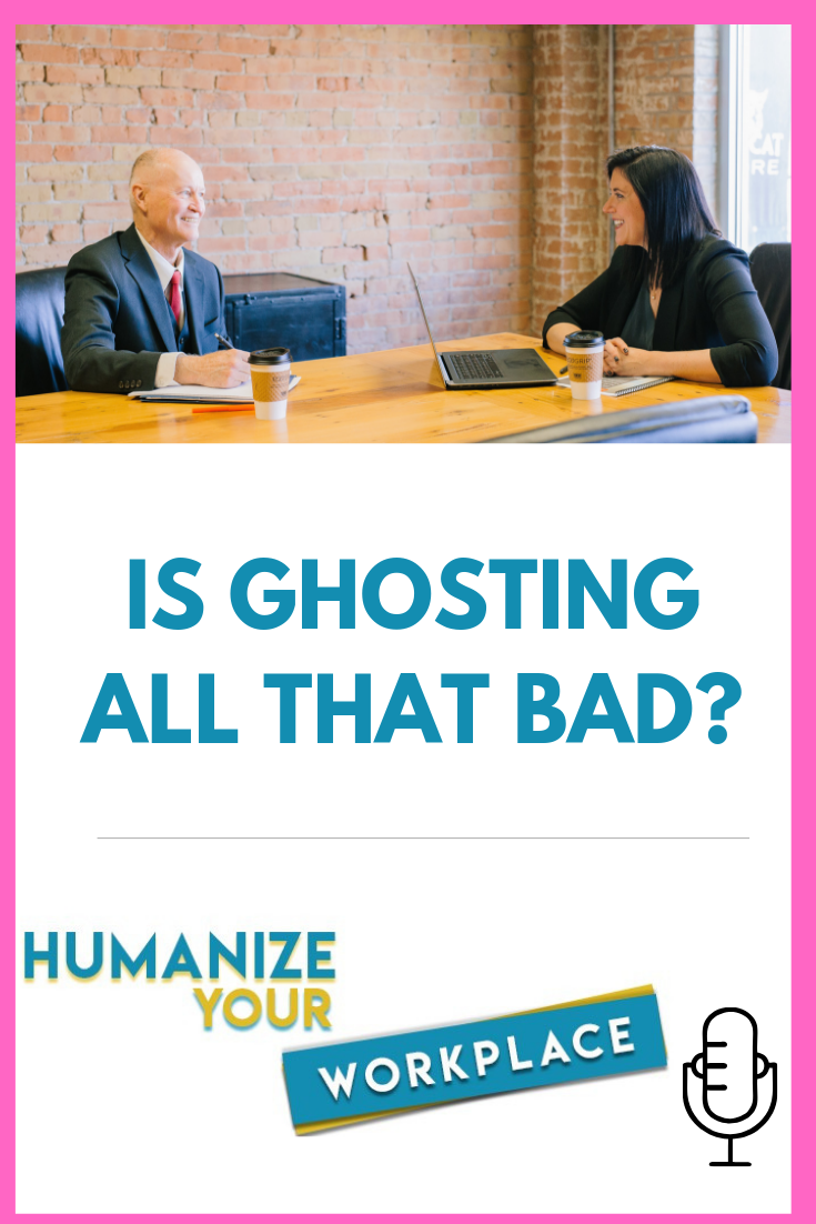 Is Ghosting All That Bad?
